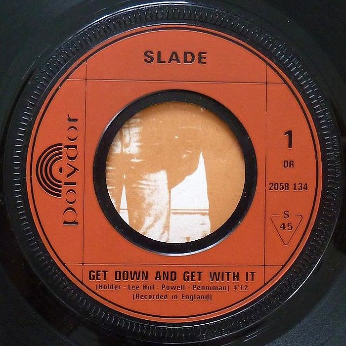 Slade Get Down And Get With It France side 1