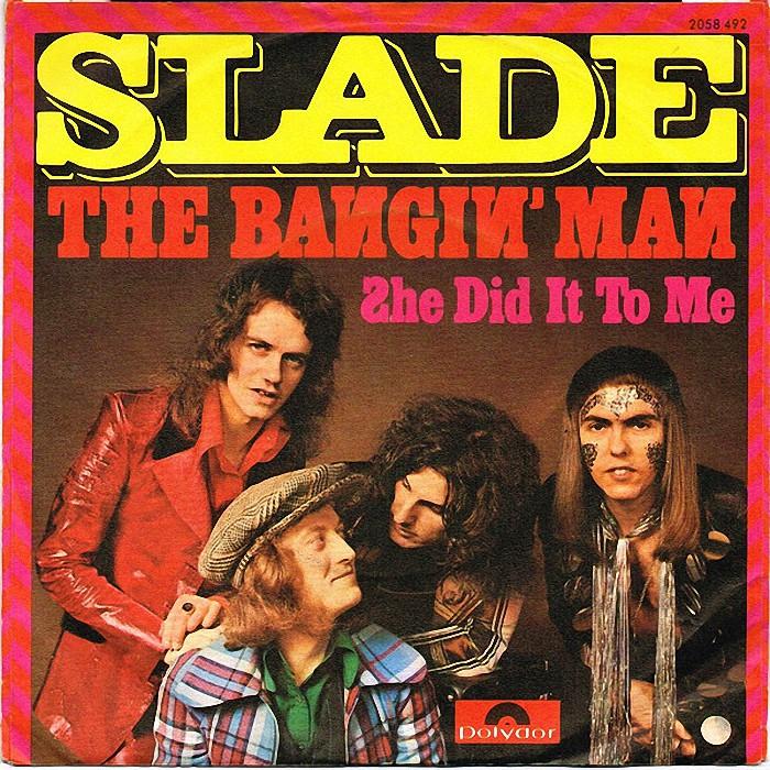 Slade The Bangin Man Switzerland back