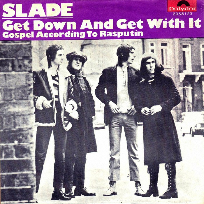 Slade Get Down And Get With It Belgium front