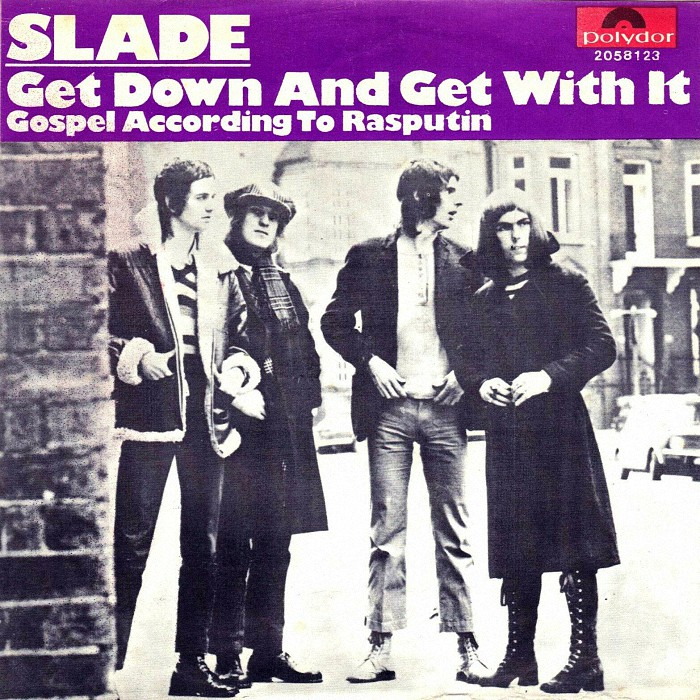 Slade Get Down And Get With It Belgium back
