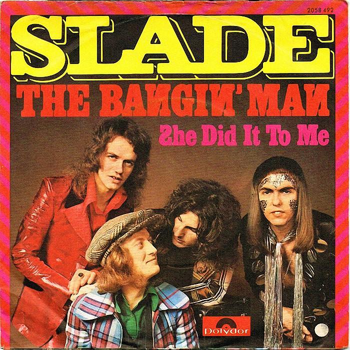Slade The Bangin Man Switzerland front