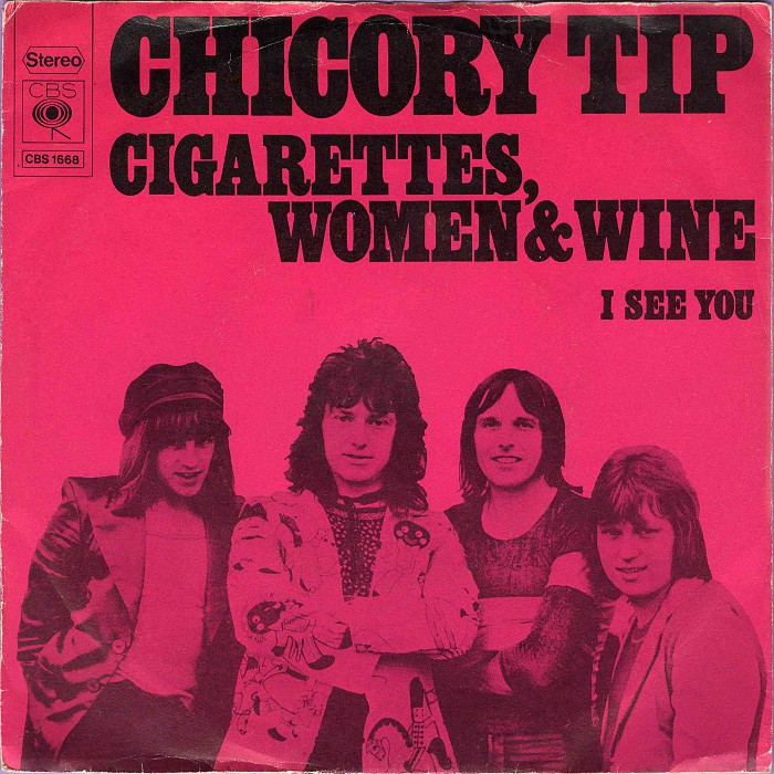 Chicory Tip Cigarettes, Women & Wine Holland front #2