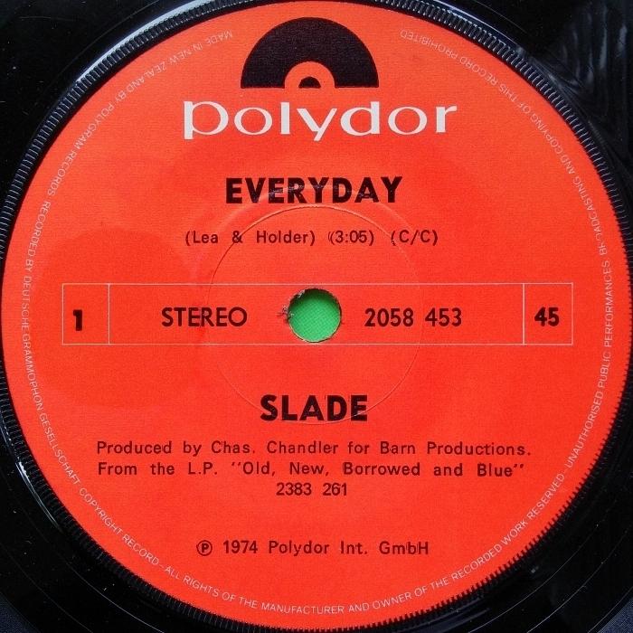 Slade Everyday New Zealand side 1