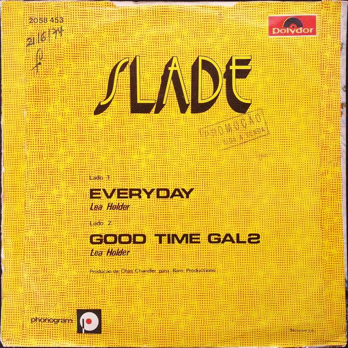 Slade Everyday Portugal back