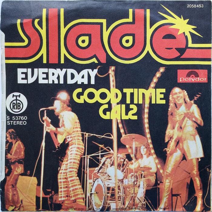 Slade Everyday Yugoslavia back