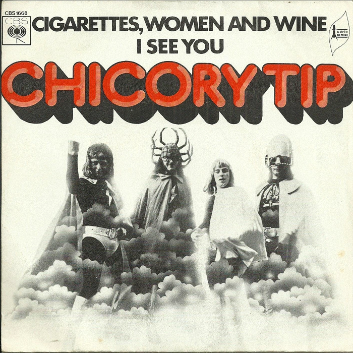 Chicory Tip Cigarettes, Women & Wine France front