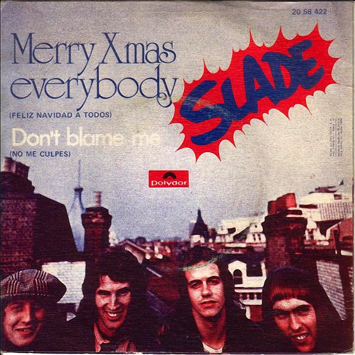 Slade Merry Christmas Everybody Spain back