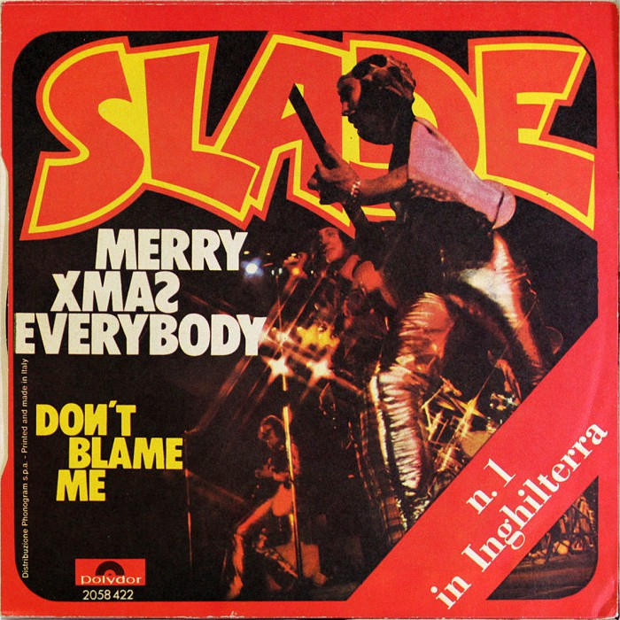 Slade Merry Xmas Everybody Italy back
