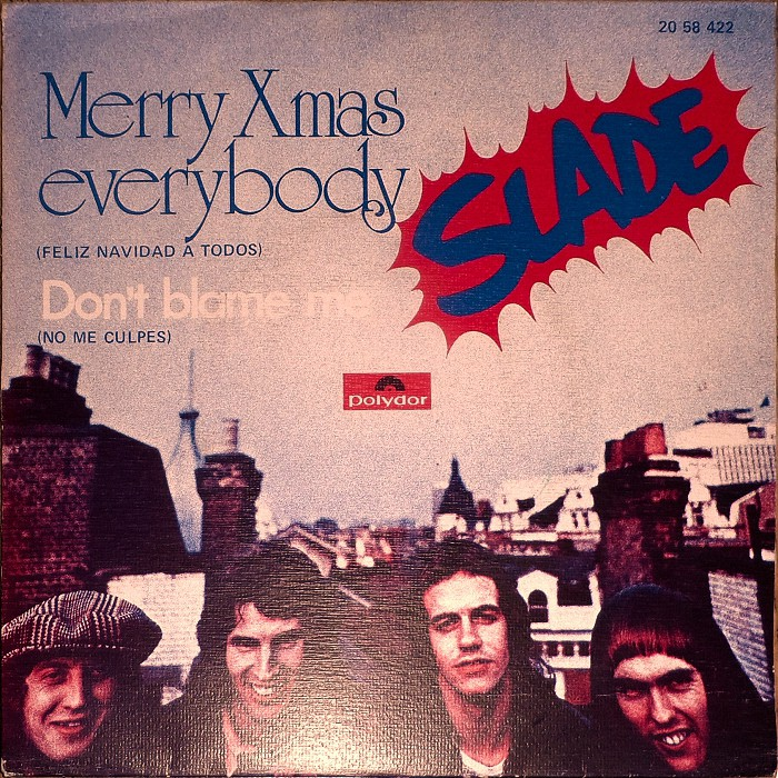 Slade Merry Christmas Everybody Spain front