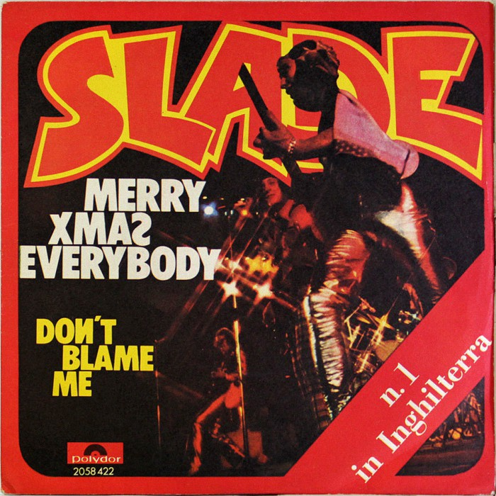 Slade Merry Xmas Everybody Italy front