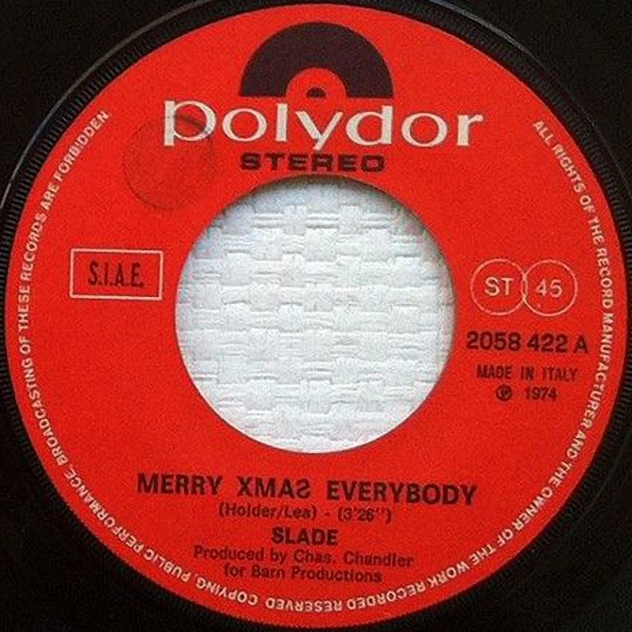 Slade Merry Xmas Everybody Italy side 1