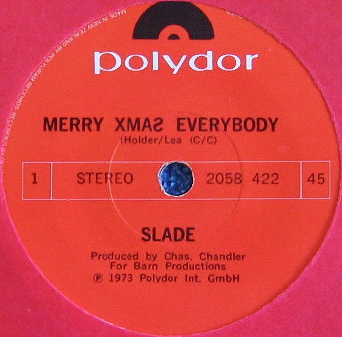 Slade Merry Xmas Everybody New Zealand side 1