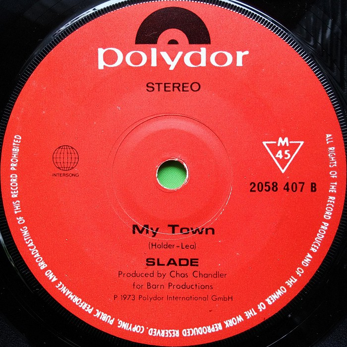 Slade My Friend Stan Singapore side 2