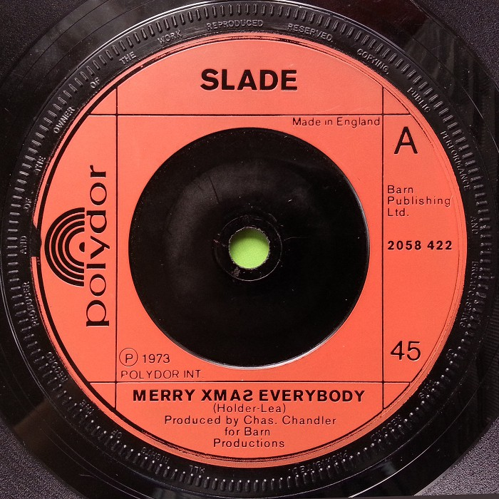 Slade Merry Xmas Everybody UK side 1