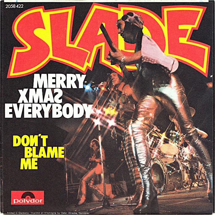 Slade Merry Xmas Everybody Germany back