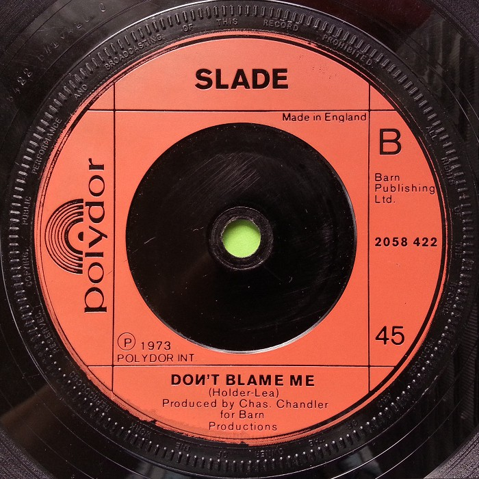 Slade Merry Xmas Everybody UK side 2