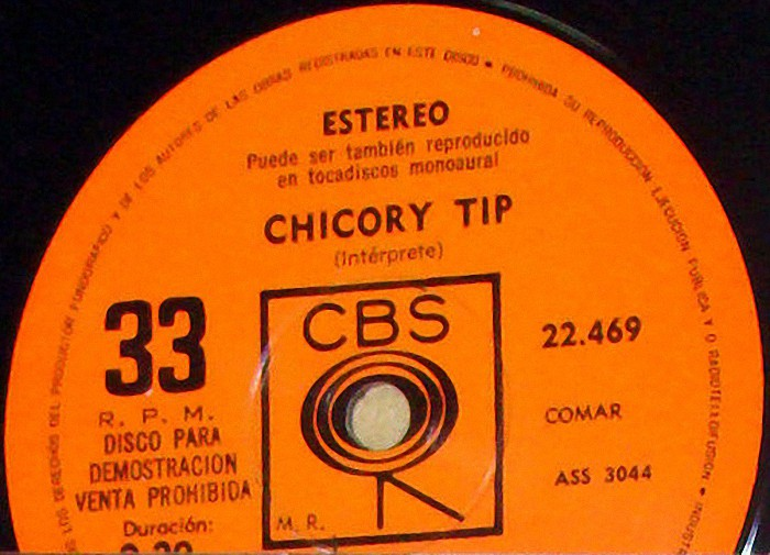 Chicory Tip Son of My Father Argentina promo side 2