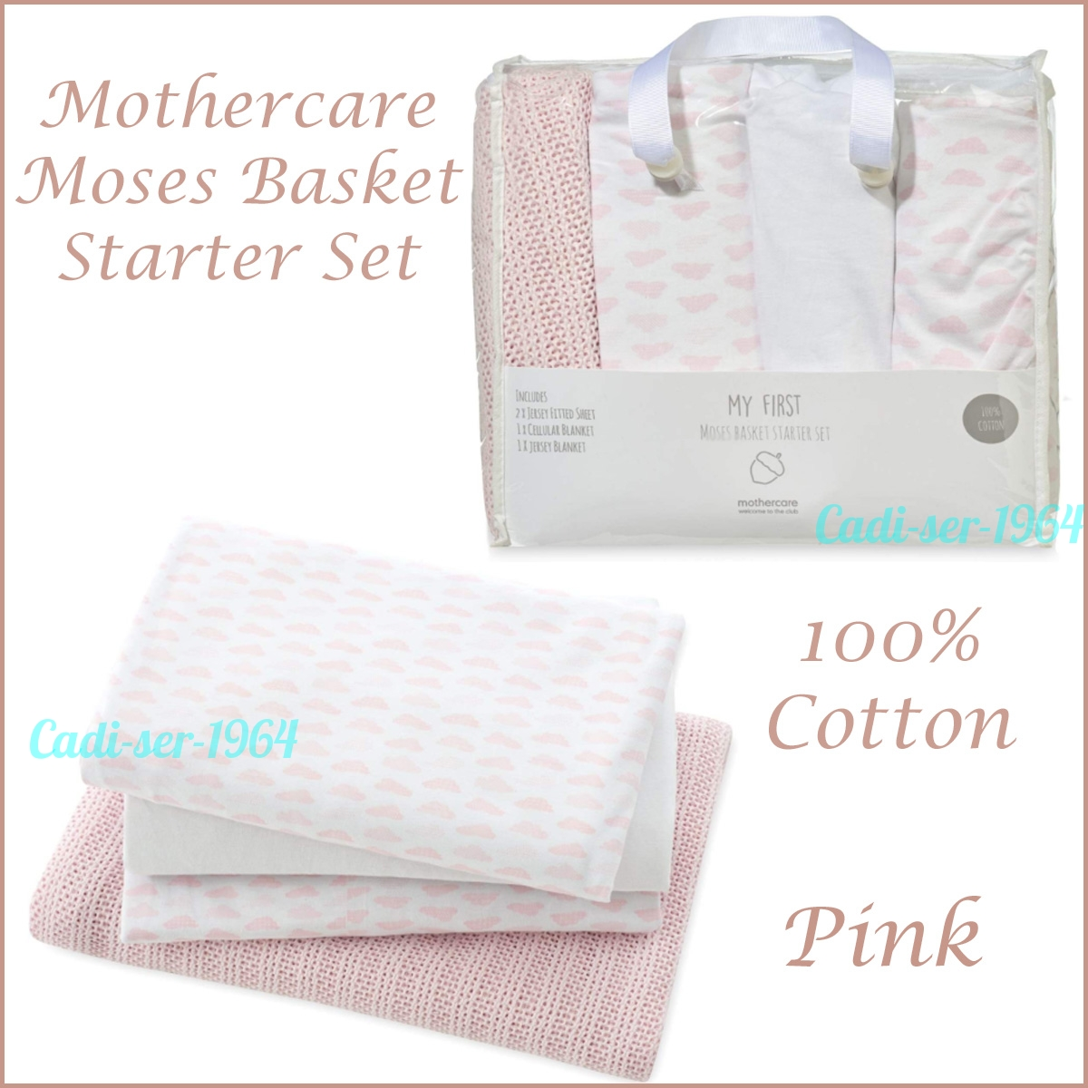 Moses Basket 100/% Cotton Fitted Sheets 1x Light Grey /& 1x Cream