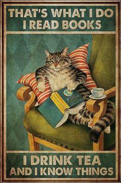 book kitty tea