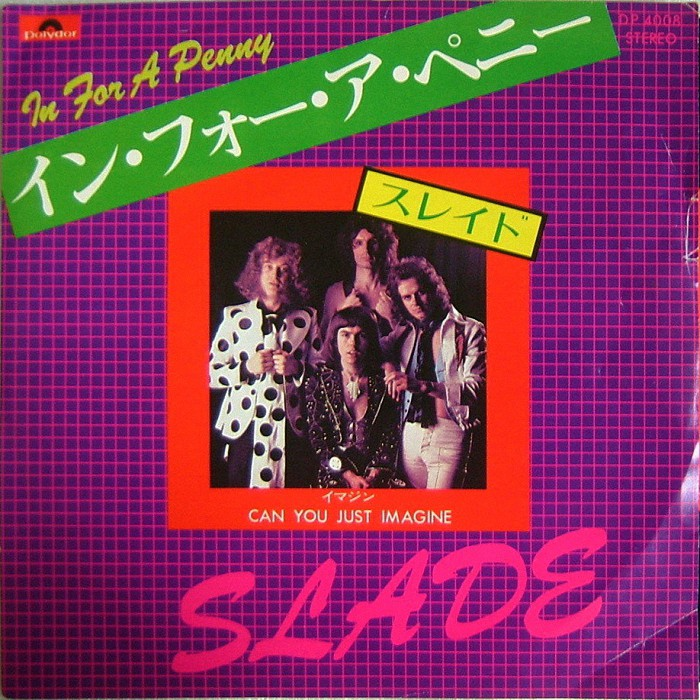 Slade In For A Penny Japan front