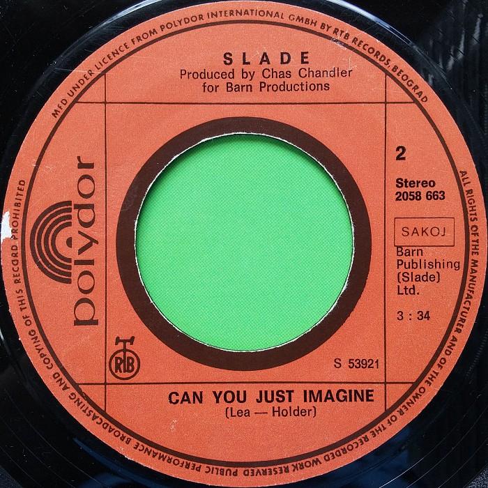 Slade In For A Penny Yugoslavia side 2