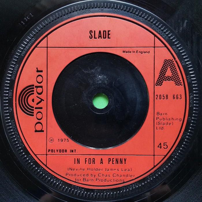 Slade In For A Penny UK side 1