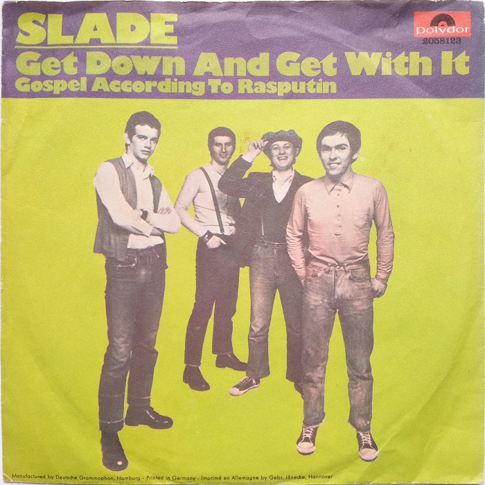 Slade Get Down And Get With It Germany front