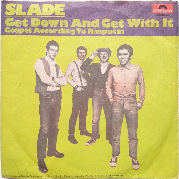 Slade Get Down And Get With It Germany back