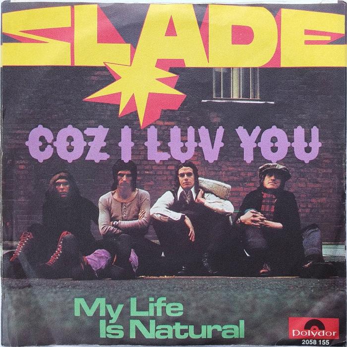 Slade Coz I Love You Germany back