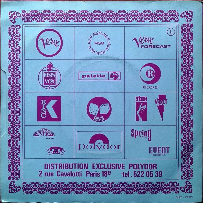 Slade Coz I Love You UK side 2 alternate jukebox