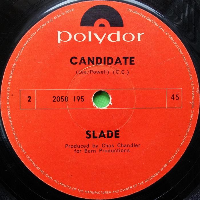 Slade Look Wot You Dun New Zealand side 2
