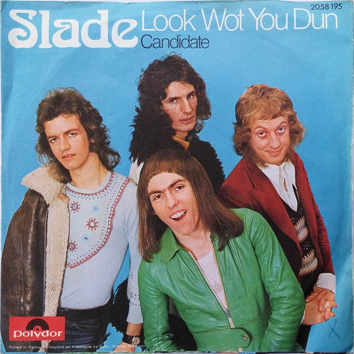 Slade Look Wot You Dun Germany front