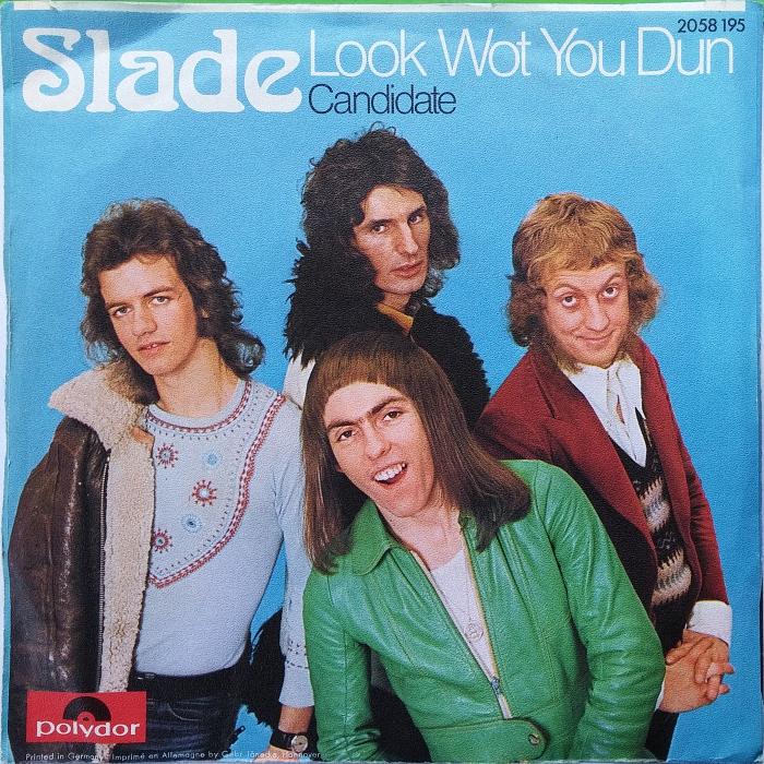 Slade Look Wot You Dun Germany back