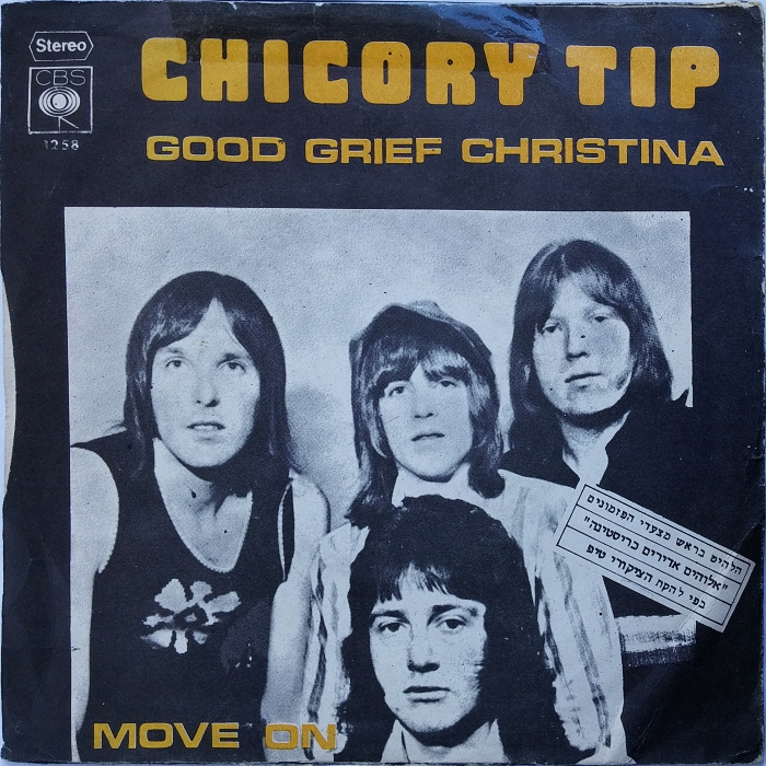 Chicory Tip Good Grief Christina Israel back