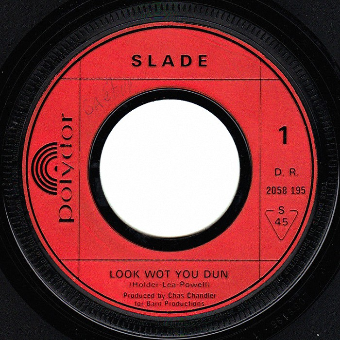 Slade Look Wot You Dun France side 1