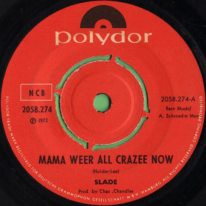 Slade Mama Weer All Crazee Now Norway side 1