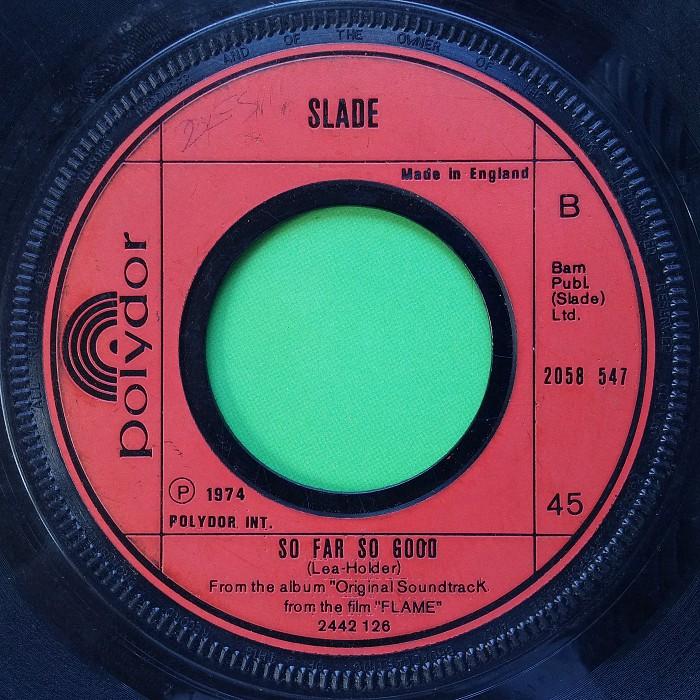Slade How Does It Feel UK side 2