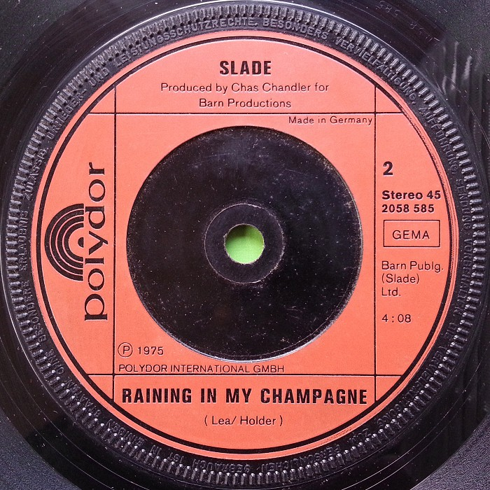 Slade Thanks For The Memory Germany side 2