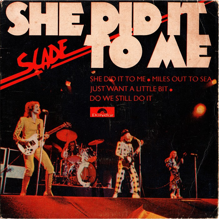 Slade She Did It To Me Brazil EP front