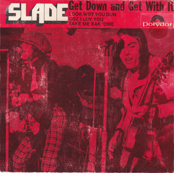 Slade Get Down And Get With It EP Australia front