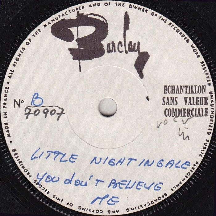 The In-Betweens (Slade) Feel So Fine EP France test-pressing side 2