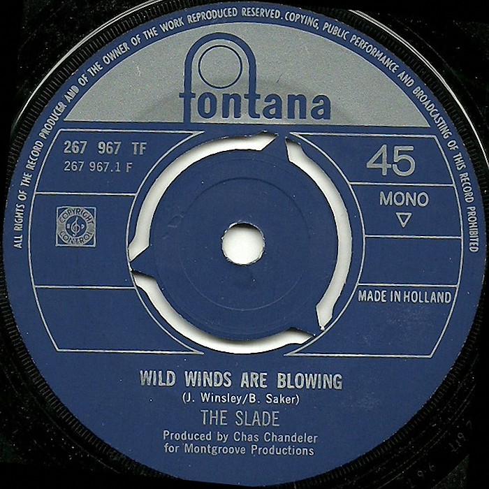 The Slade Wild Winds Are Blowing side 1 Holland