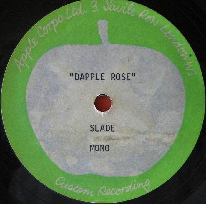 Slade Know Who You Are acetate UK side 2