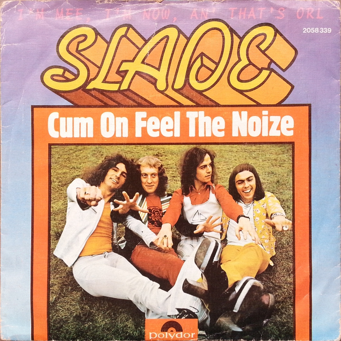 Slade Cum On Feel The Noize Portugal front