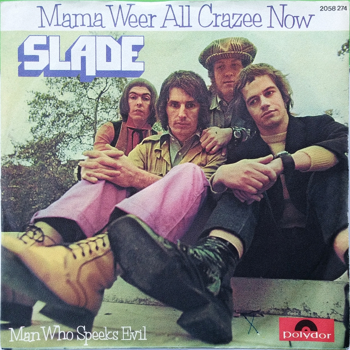 Slade Mama Weer All Crazee Now Germany front