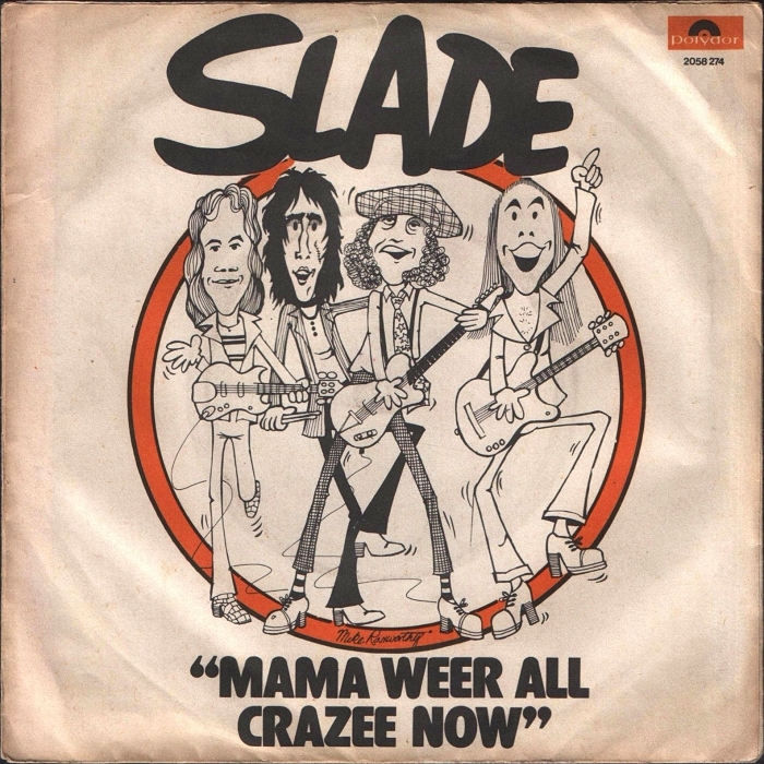 Slade Mama Weer All Crazee Now Turkey back