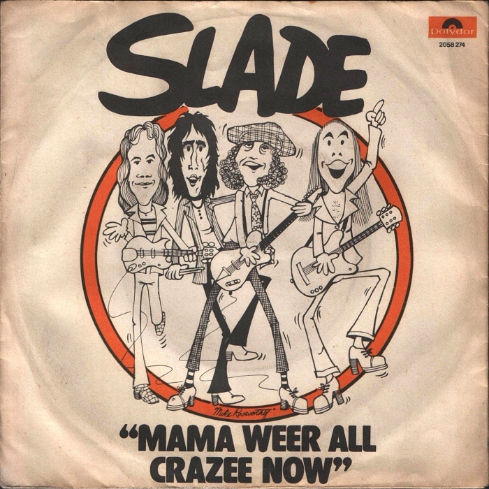 Slade Mama Weer All Crazee Now Turkey front