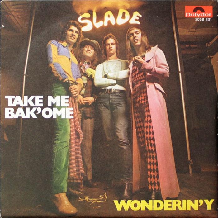 Slade Take Me Bak Ome Italy front