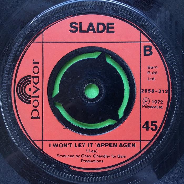 Slade Gudbuy To Jane UK side 2