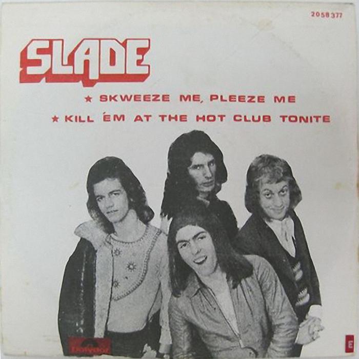 Slade Skweeze Me Pleeze Me Israel front